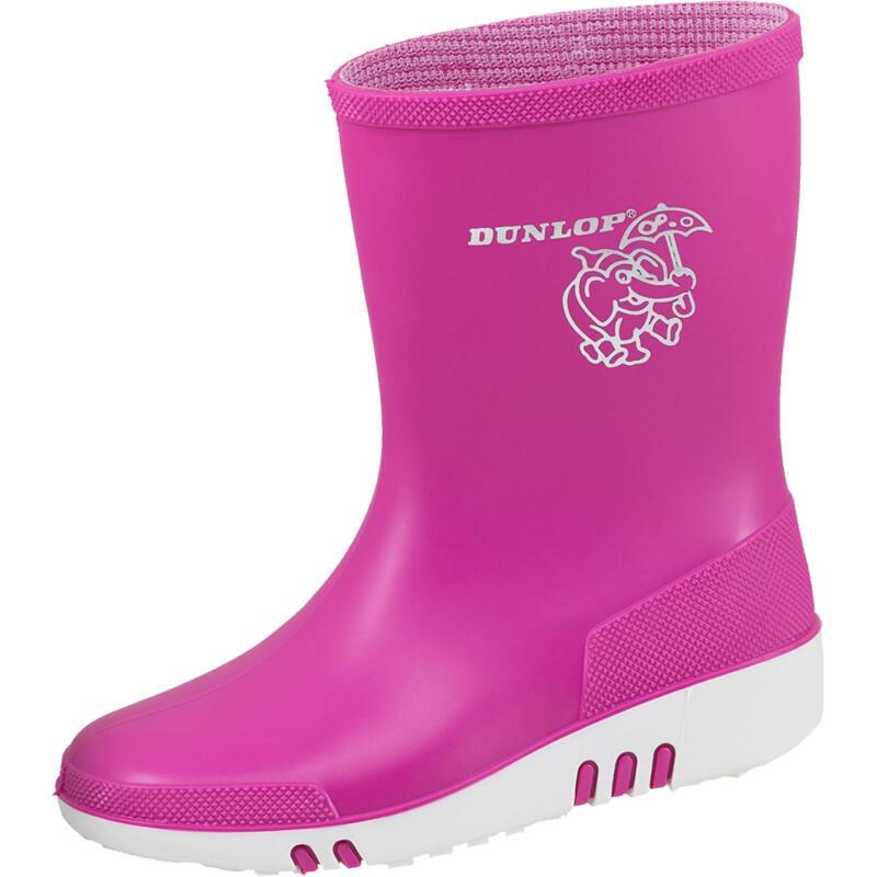 Dunlop Kinderstiefel Mini pink