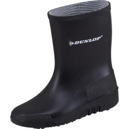 Dunlop Kinderstiefel Mini schwarz