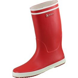 Aigle Stiefel Lolly-Pop rouge/blanc