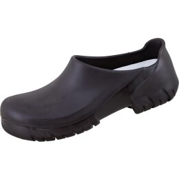 Birkenstock Alpro Schuhe schwarz mit Stahlkappe