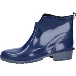 Bockstiegel Elke PVC Damen-Halbstiefel dunkelblau