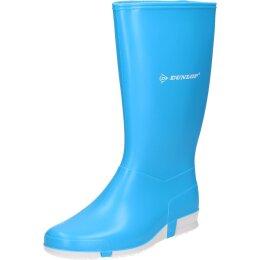 Dunlop Stiefel Sport ocean hellblau/weiß
