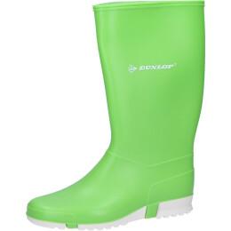 Dunlop Stiefel Sport lime hellgrün/weiß