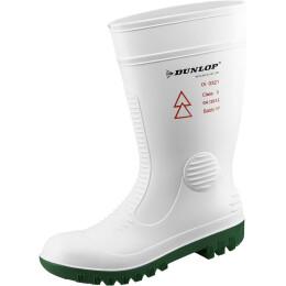 Dunlop Stiefel Acifort safety HV weiß