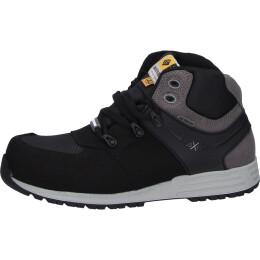 To Work For Power S3 Sicherheitsschuhe-Schuh hoch schwarz/grau