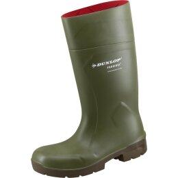 Dunlop Stiefel Purofort MultiGrip safety grün S4
