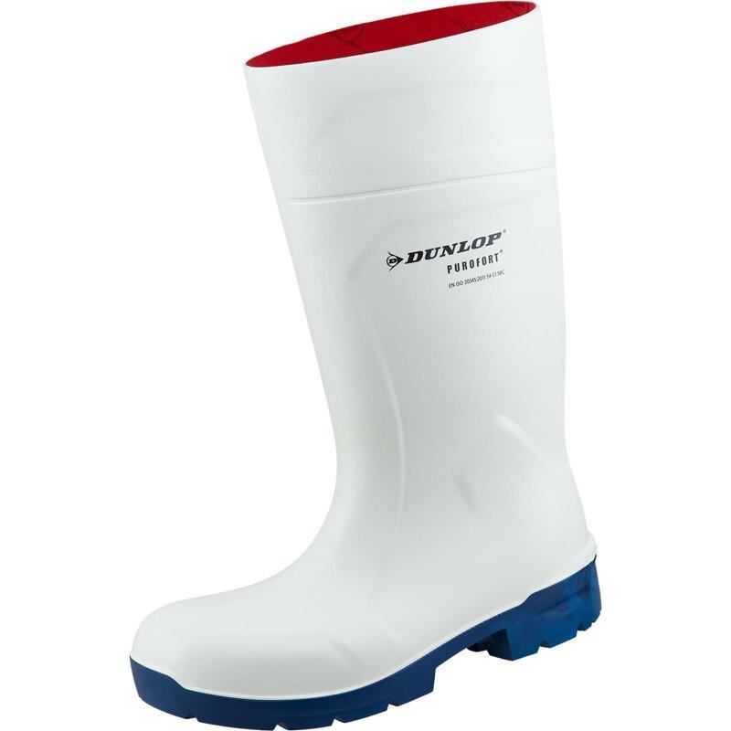 Dunlop Stiefel Purofort MultiGrip safety weiß S4