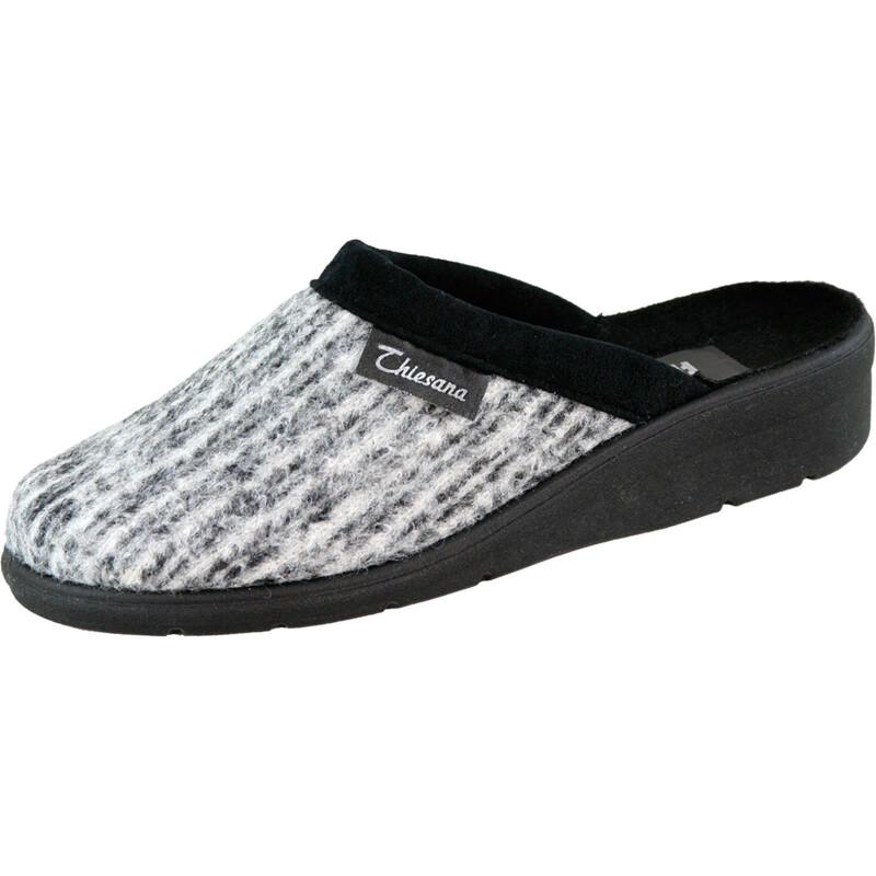 Silvi Schuhe Strukturgewebe grau