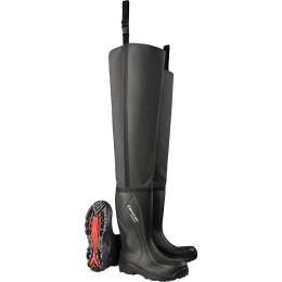 Dunlop Stiefel Purofort+ Watstiefel schwarz