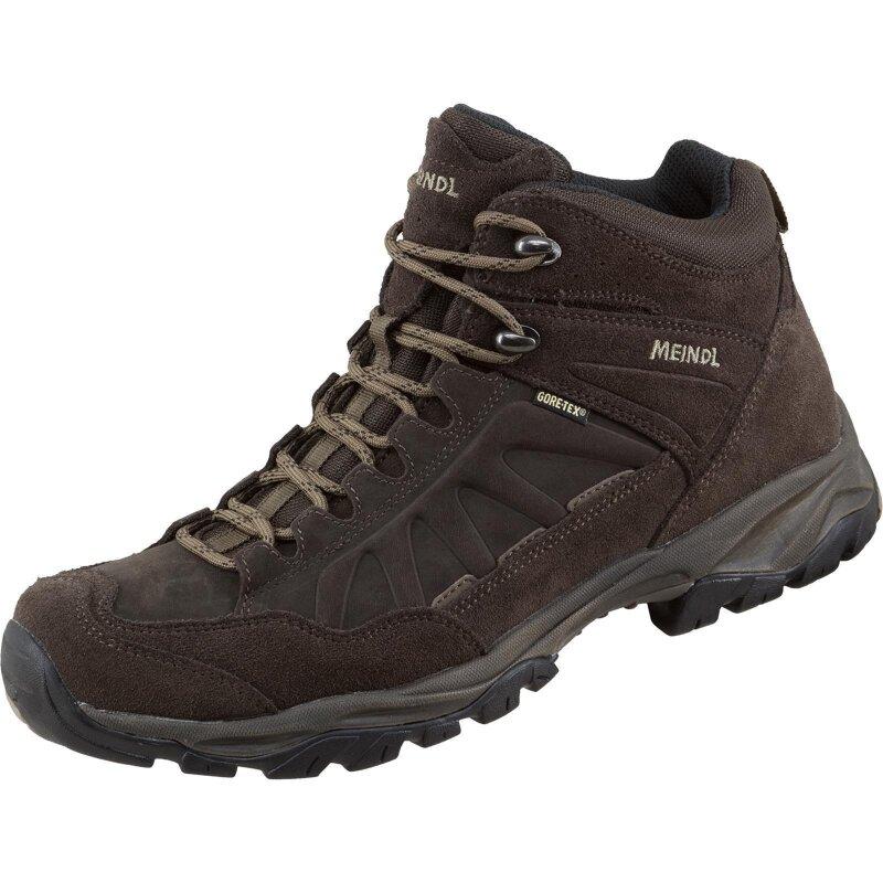 Meindl Schuhe Nebraska Mid GTX mahagoni