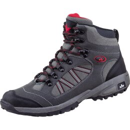 Lico Rancher High Schuhe grau/schwarz/rot