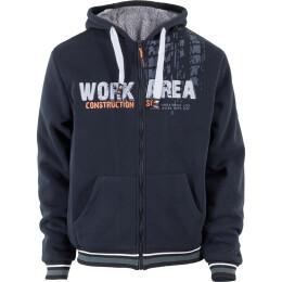 Terrax TTJ Sweatjacke schwarz