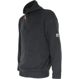 Troyer Pullover anthrazit