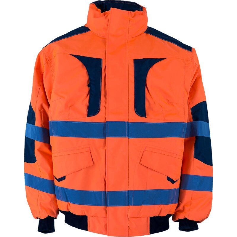 Canadian Line Warnbau Pilotenjacke orange