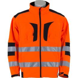 Canadian Line Warnbau-Softshelljacke orange