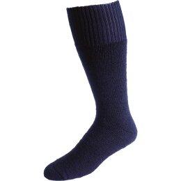 Nordpol Socken marine Vollplüsch 70%W/30%P