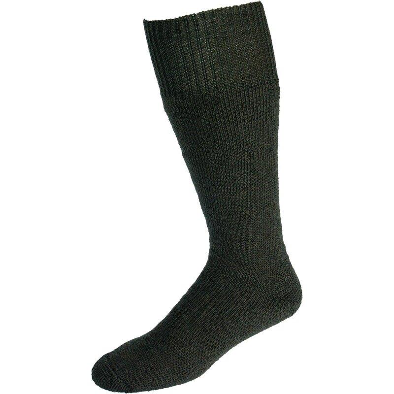 Nordpol Socken grau Vollplüsch 70%W/30%P Gr. 35-39