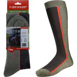 Dunlop Stiefelsocken Boot Sock Nature grün/schwarz