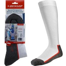 Dunlop Stiefelsocken Boot Sock Hygienic weiß/grau
