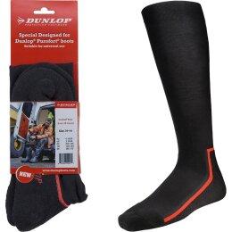 Dunlop Stiefelsocken Boot Sock All Round schwarz