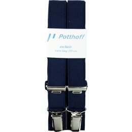 Cliphosenträger blau Gr. 110cm