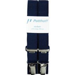 Cliphosenträger blau Gr. 120cm
