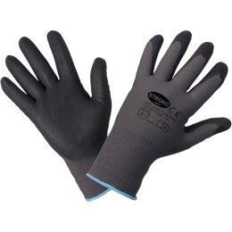 Stronghand Canton Handschuhe grau/schwarz CAT 2 EN 388