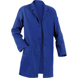 Kübler Mantel blau 100% Baumwolle