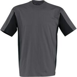 Kübler Shirt-Dress T-Shirt zweifarbig anthrazit