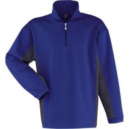 Kübler Shirt-Dress Sweatshirt blau/anthrazit