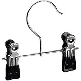 Metall-Klammerhalter schwarz Gr. 12cm