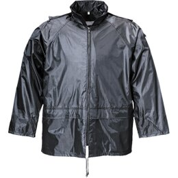 Terrax Regenjacke schwarz