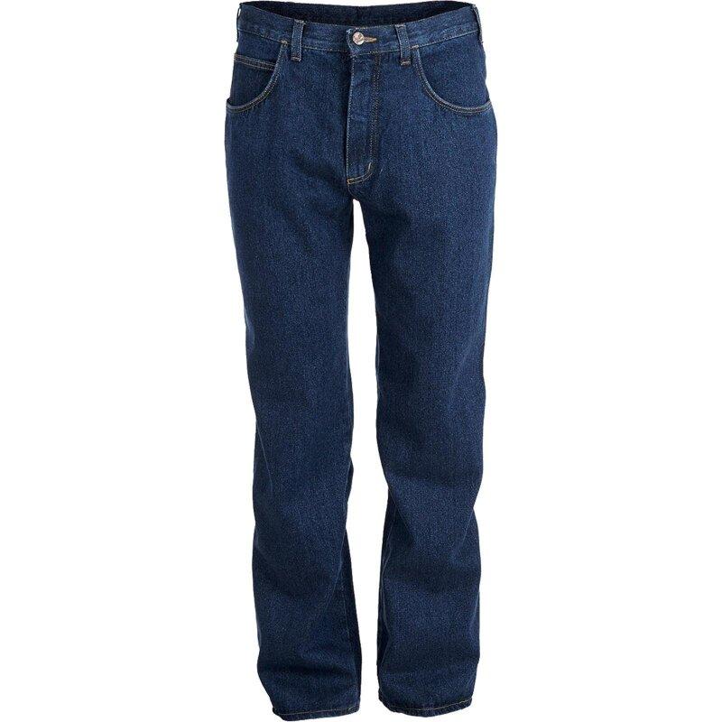 Kübler Jeans blau mit Zollstocktasche