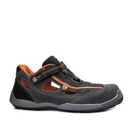 Base Arbeitssandale Aerobic schwarz/orange