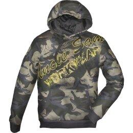 Uncle Sam Hoody oliv camouflage