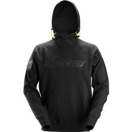 Snickers Logo Hoodie schwarz