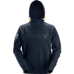 Snickers Logo Hoodie blau