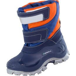 Spirale Stiefel Simon orange/blau