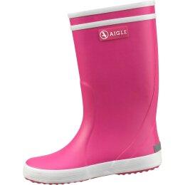 Aigle Lolly-Pop Stiefel pink/weiß